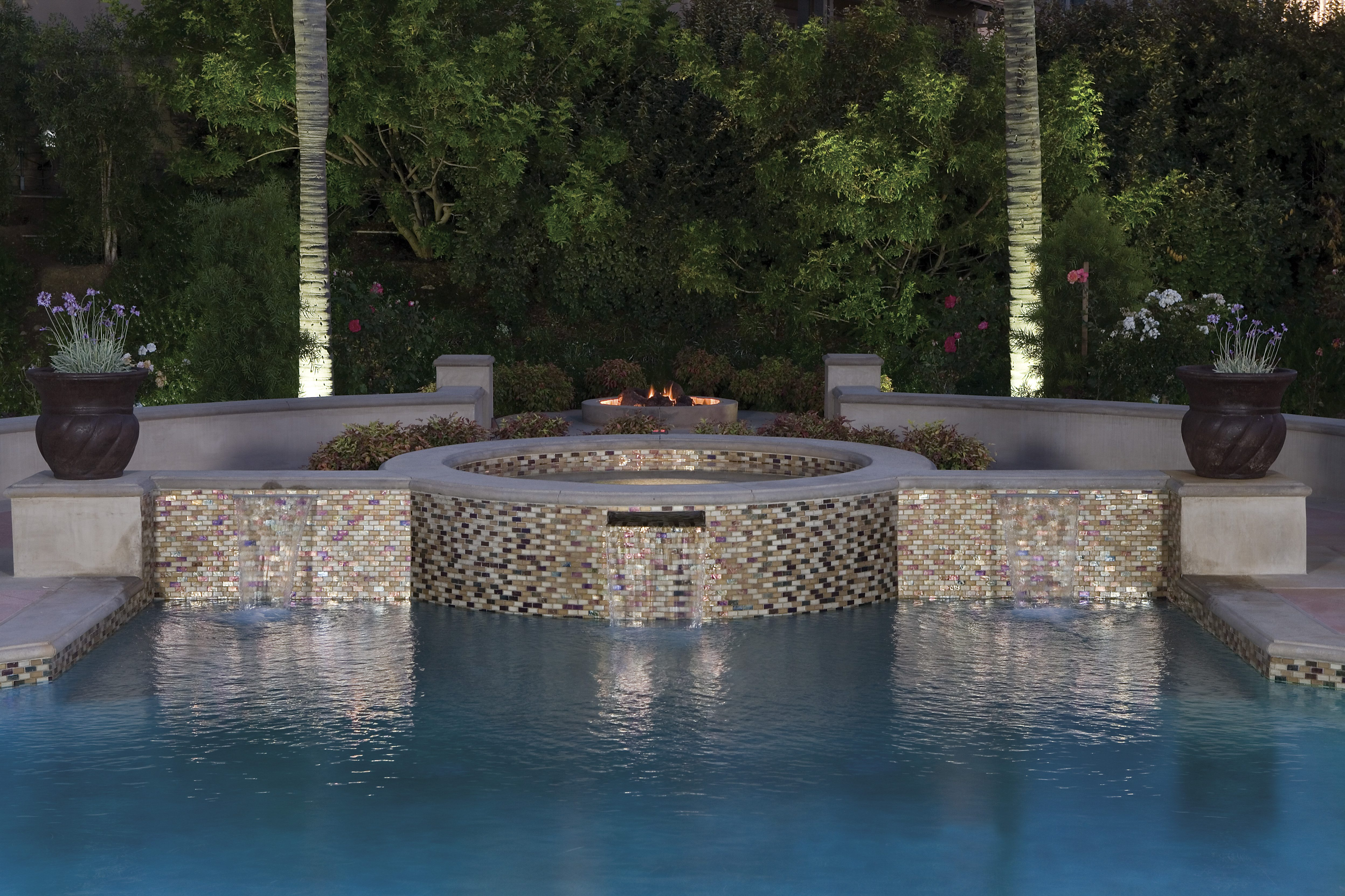Master pool tile old world pools for Swimming pool tiles